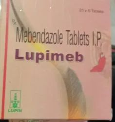 Lupin Mebendazole LupiMeb Tablets, Non prescription, Packaging Type: Strip Pack
