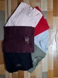 Cotton Plain Zara Man T Shirts