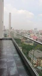 Modular Balcony Glass Railing, For Home And Office