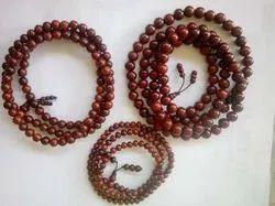 Lal Chandan Mala Sandalwood Beads