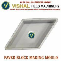 Diamond Shape Paver Block Making Mould