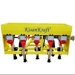 Plastic KisanKraft KK-SFD-03 SEEDER - FITS WITH INTERCULTIVATORS, For Wetland Paddy Seeding