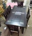 Wooden Dining Table With 6 Chair