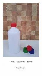 500 Ml Milky White Bottle
