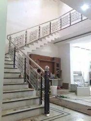 SSM46 Stainless Steel Glass Stair Railing