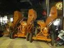 Concrete Mixer Machine With Hydraulic Hopper