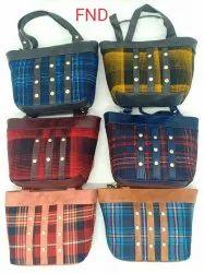 Aakaar 6 Colour Ladies Handbag, For Casual Wear