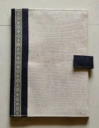 Weavrs #BeNatural Convocation File Jute Conference Folder, For Office, Paper Size: A4