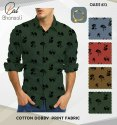 """Cotton 58-60"""" Oasis Fancy Printed Fabric, For Garments"""