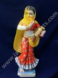 Statue Of Rajasthani Lady