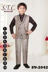 Boy Fancy Fourpiece Suit, Size: 1-10