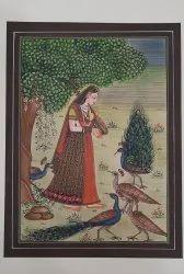 Ragmala Paper Painting
