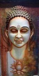 Gautam Buddha mural