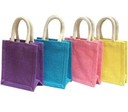 Plain Jute Thamboolam Bag, Bag Size: 8 X 8 Inch