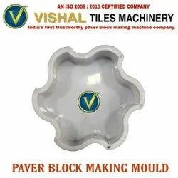 White Paver Block Making Mould