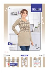 Multicolor Melini Long Tshirt