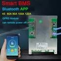 Lithium battery smart battery management system with Android interface