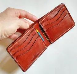 PU Leather Brown Mens Wallets