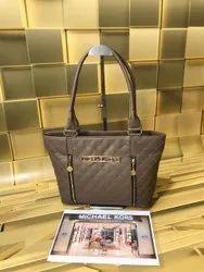 Handbags Pu Leather Michael Kors Handbag, For Office