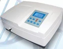 Single Beam UV VIS Spectrophotometer