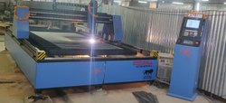 Mild Steel CNC PLASMA CUTTING MACHINE, Max Cutting Speed: >4000 mm/min, 3KVA