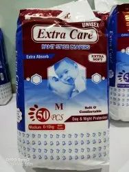 Extra Care Pant Style Diapers 50pcs Size: M