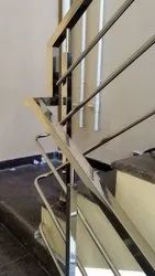 Stainless Steel Staircase Railing 2