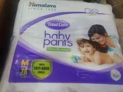 5 To 11 Kg Pant Diapers Himalaya Baby Pants medium size, Age Group: 1-2 Years, Packaging Size: 78
