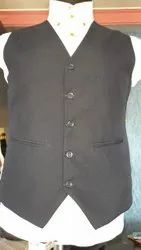 Polyester Formal Waistcoats, Size: 34 to 42
