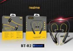 Wireless Yellow Realme Headphones, 400km