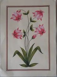 Flowers Paper Painting