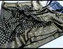 Banarasi Khadi Chiffon Silk Saree