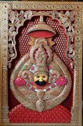 Khatu Shyam Ji 3D Painting
