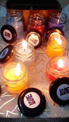 Mix Glass Corporate Gifts Glass candles - 30ml & 50ml