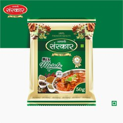 Mix Masala Powder, Packaging Type: Packet, Packaging Size: 50g
