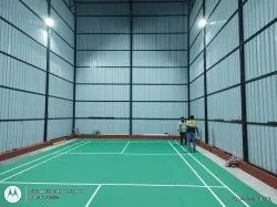 Steel Badminton Court Roofing Shed