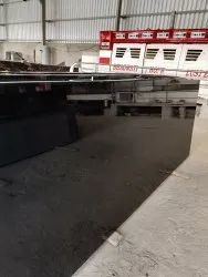 Polished Big Slab Black Granite, For Flooring, Thickness: 10-15 mm