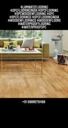 Brown Maple Engineered Wooden Flooring, For Home, Surface Finish: Matte