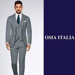 Wedding Gray 3 Pc Suit For Men