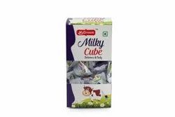 My dream White Milky Cube Chocolates, Number Of Pieces: 100