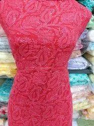 Cotton Pink 3 Piece Ladies Suit, Machine wash