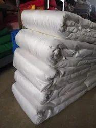 White Plain Dyeble Rawsilk 100g Cloth, For Garments