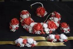 Artificial Foam Flower Jewellery for bride