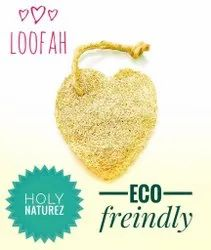 Natural Loofah Sponge Body Scrubber, For Personal, Oval