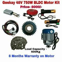 48v 750w Gee Kay E-Bike/E-Rickshaw conversion kit