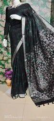 Linen Batik Print Saree