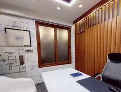 Modern UPVC Wooden Window