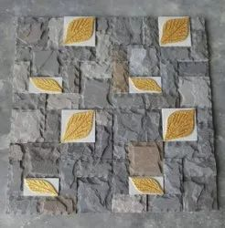 With Civil Work Horizontal Stone Wall Cladding, For Exterior & Interior Walls, Thickness: 6mm