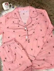 Female Pink Night Suit