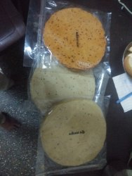 Chana/Moong/Udad Garlic Papad